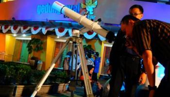 Layanan Taman Pintar Buka Malam Hadirkan Komunitas Astronomi