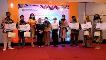 Awarding Museum Sains Taman Pintar Batik Photo Contest 2020