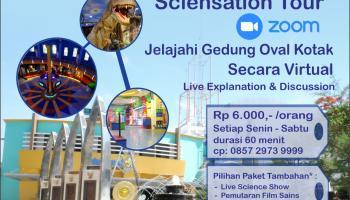 Taman Pintar Sciensation Tour, Belajar Sains dengan Cara Baru