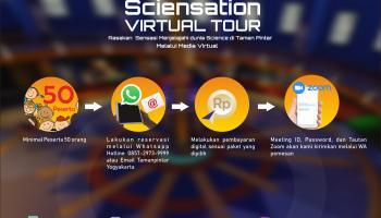Cara Pemesanan Sciensation Virtual Tour
